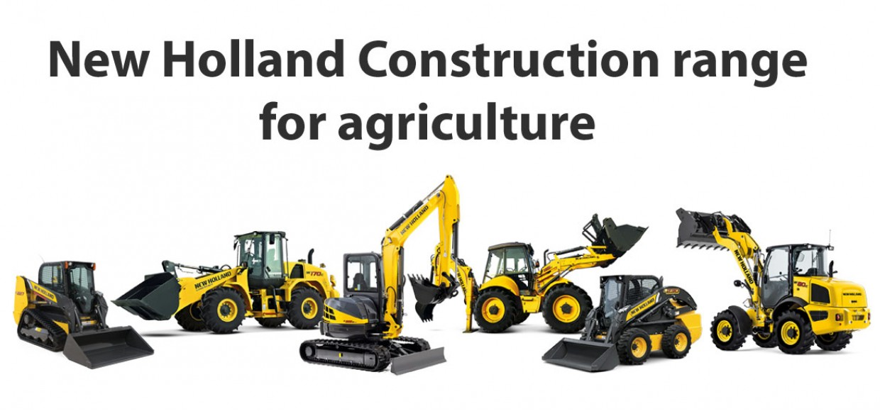 New Holland Construction For Agriculture