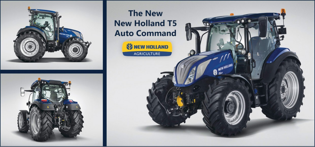 New Holland T5 Auto Command