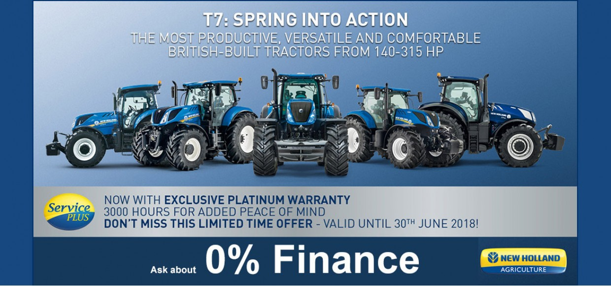 New Holland Tractor T7 deal