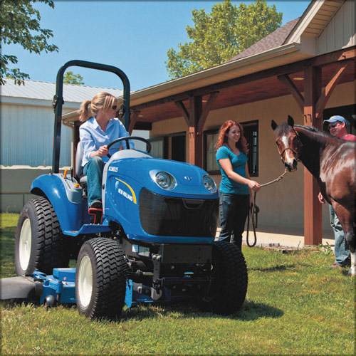 New Holland Boomer 25 Compact Tractor - New Holland Dealer