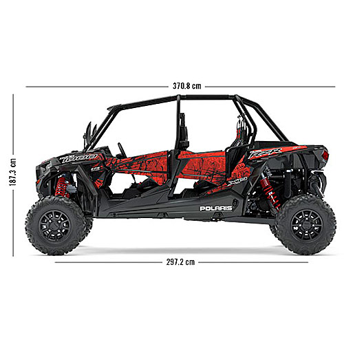 Polaris RZR XP® 4 1000 EPS - Four Seater