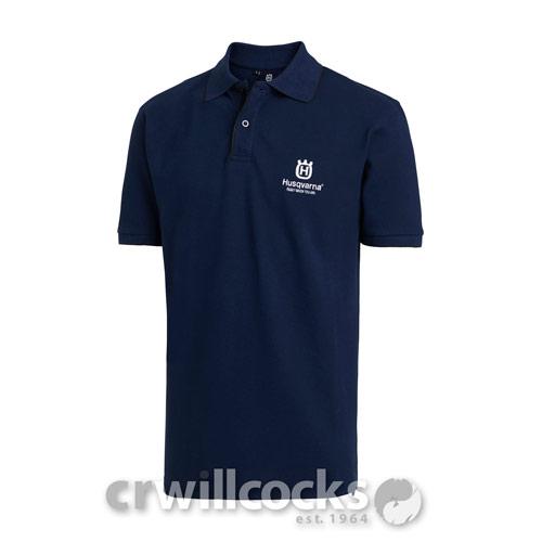 2b522edd3 Husqvarna Cotton Polo Shirt (Mens) - Husqvarna Merchandise