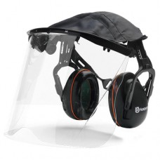 Husqvarna Hearing Protection with Clear Visor