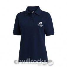 Husqvarna Cotton Polo Shirt (Womens)