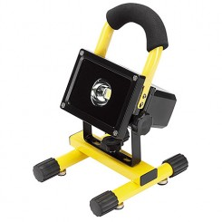 Draper 10w COB LED rechargeable worklight