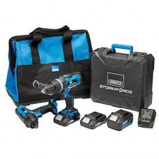 Draper Storm Force® 20V Cordless Drill Kit