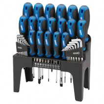 Draper 44 Piece Screwdriver Set With Stand