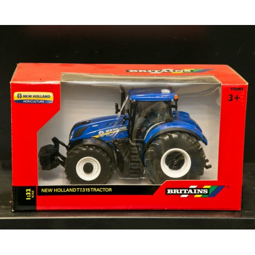 New Holland Toy Tractors - Britains Big Farm New Holland