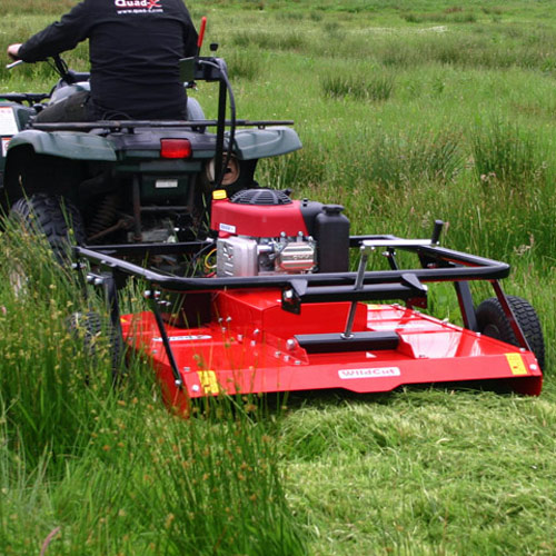 Quad X Wildcut Mowers: Medium, Heavy and Wildcut Extreme