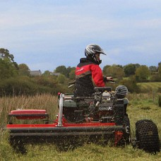 Quad X Power Shredder Mower
