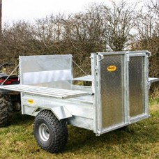 Quad-X Stock Trailer 5' x 3' 33""