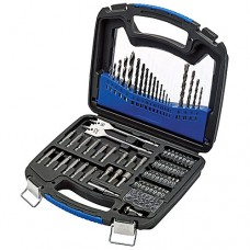 Drill Bit Set by Draper Tools - 75 Piece Kit - 66090