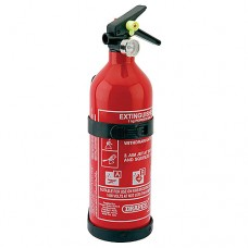 Small Fire Extinguisher - 1kg Dry Powder - Draper Tools