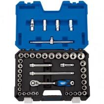 """Draper 1/2"""" Sq. Dr. Combined MM/AF 41 Piece Socket Set"""