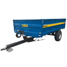 4 and 6 Ton Tipping Trailer