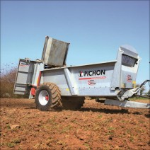 Pichon M1045 Muck Spreader Available For Demo