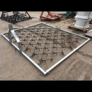 Fleming  Mounted Grass Harrow GHL8
