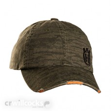 Husqvarna Xplorer Green Distressed Baseball Cap