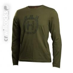 Husqvarna Xplorer Long Sleeve Green T-Shirt
