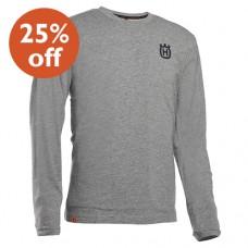 Husqvarna Xplorer Long Sleeve Grey T-Shirt