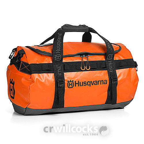 Husqvarna Xplorer Orange Duffle Bag (70 L)