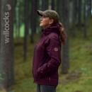 Husqvarna Xplorer Womens Shell Jacket (Purple)