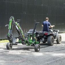 Kellfri ATV Backhoe Digger