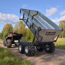 Kellfri TV10H ATV Hydraulic Tipping Trailer