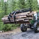 Kellfri Log Grab / Timber Grapple For Front Loaders