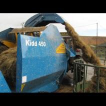 Kidd 450T Bale Shredder