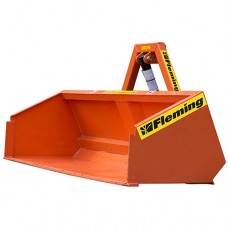 Hydraulic Transport Box For Compact Tractors