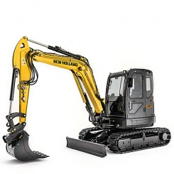 New Holland E60C Mini Digger