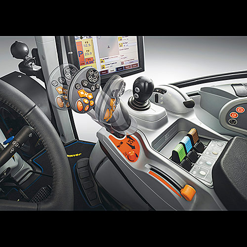 New Holland T Autocommand Armrest Joystick X