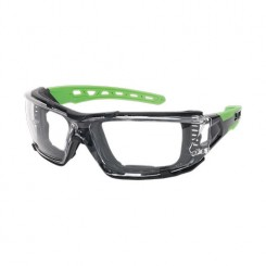 Safety Spectacles with EVA Foam Lining - Clear Lens