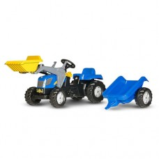 Pedal Tractor, Trailer And Loader - New Holland T7550