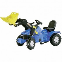 Pedal Tractor With Loader - New Holland TD5050