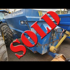 Used Dual Spreader - West 1600 Gallon