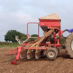 Used Seed Drill - Kverneland 4M T-S Tine Seeder