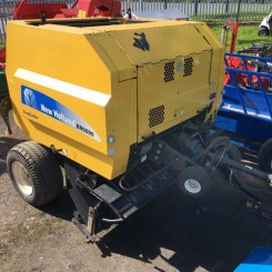 Used Round Baler - New Holland BR6090