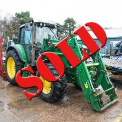 Used John Deere JD 6520