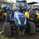 Used New Holland Boomer 50 Compact Tractor with mowing deck