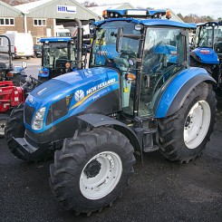 New Holland T4.95 Dual Command - 67 Plate