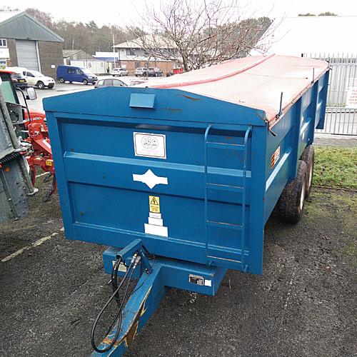 Used Marston Grain Trailer For Sale - ACE 12 Ton Grain Trailer