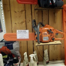 Used chainsaw: Husqvarna 135