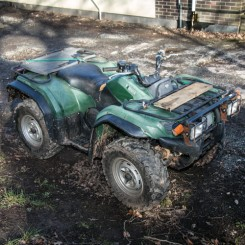 Used Quad - Yamaha Grizzly YFM450 IRS