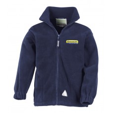 New Holland Full Zip Active Fleece Kids