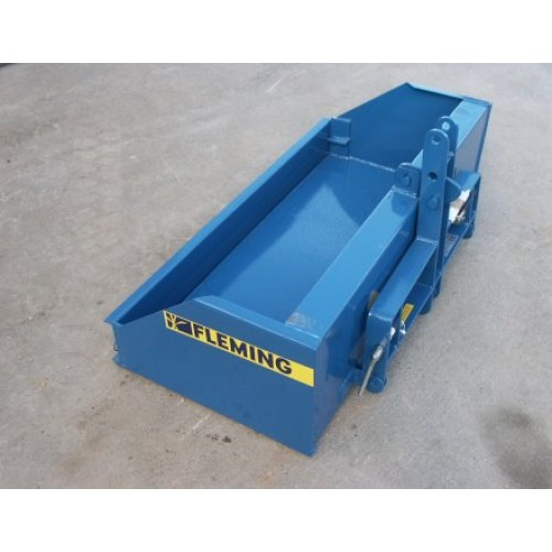 Fleming 4ft Transport Box Linkboxes and Yard Scrapers