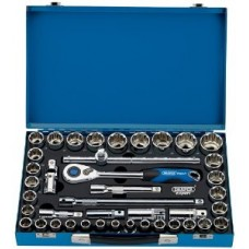 "Draper 41 Pcs 1/2"" Drive & Socket Set"